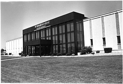 Kimball International office building in 1974