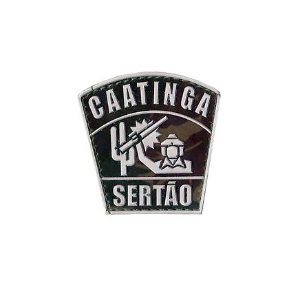 DISTINTIVO EMBORRACHADO CAATINGA DE SERTÃO