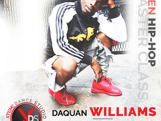 Rescheduled TBD: Hip-Hop Master Class with Daquan