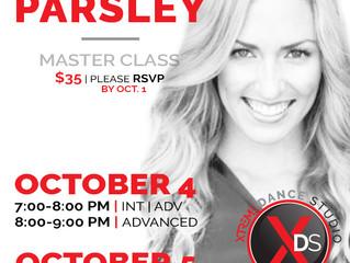 Jennifer Parsley's Master Class @ Xtreme