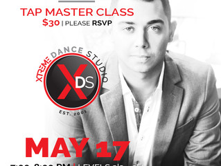 Daniel Hunlap brings a Tap Master Class to Xtreme