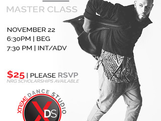 NRG's Nick Gonzalez Master Class at Xtreme Dance