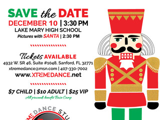 Save the Date | 10th Annual Nutty Nutcracker | December 10, 2016