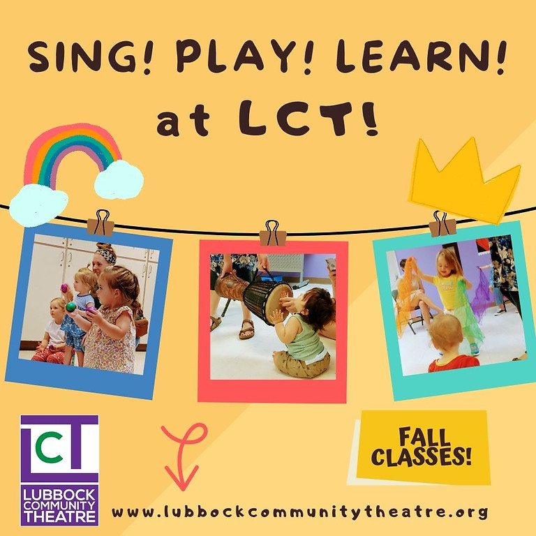 Sing! Play! Learn! at LCT Fall Classes