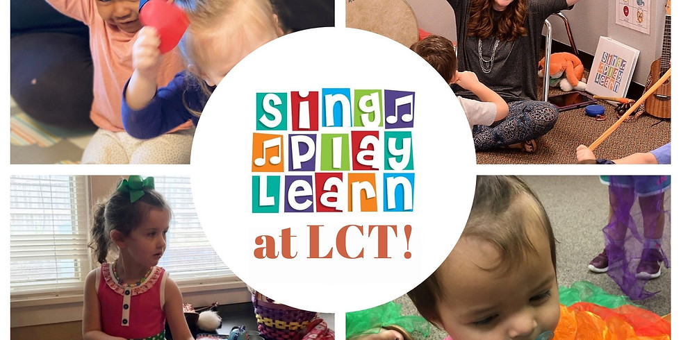 Sing! Play! Learn! at LCT