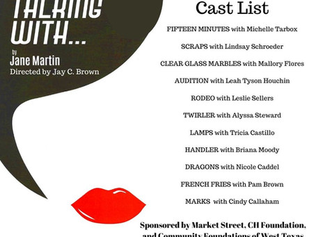 Announcing Cast List for Talking With!