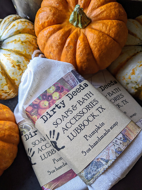 Pumpkin Handmade Soap