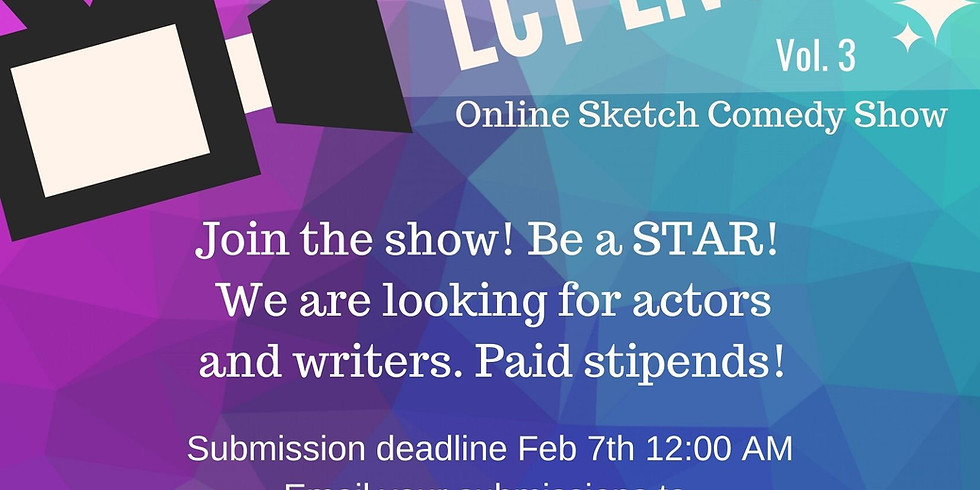 AUDITIONS for LCT Live-Ish