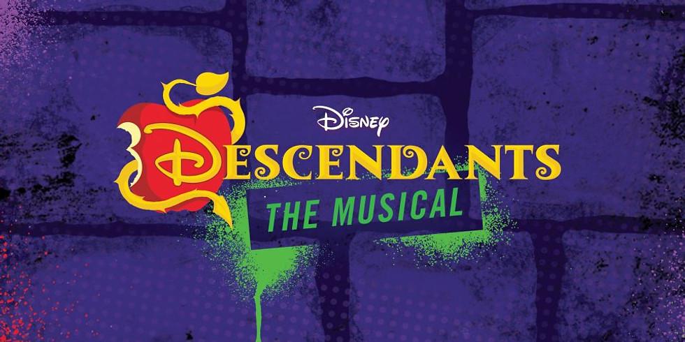 Disney's Descendants intensive CAMP