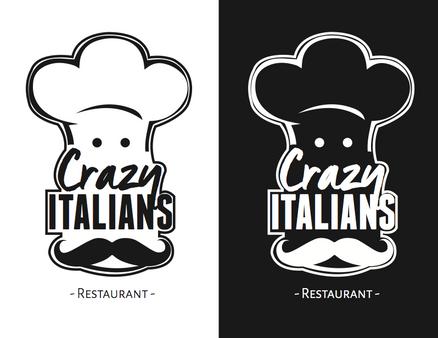 Logo: Crazy Italians