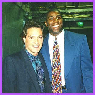 Blake & Magic_The Forum 1994_#tbt #magicjohnson #lakers #donaldsterlingisanasshole