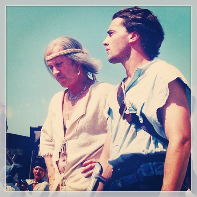 DUNE WARRIORS_New Horizons Pictures_with David Carradine_#tbt