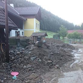 Hochwassereinsatz in Bundschuh