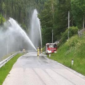 Wasserförderungs Übung