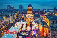ドイツ クリスマス 夜景 クリスマスマーケット 冬