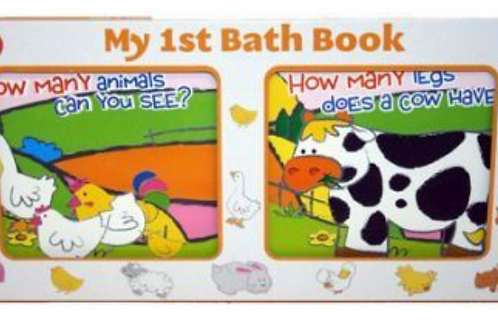 My First Bath Book