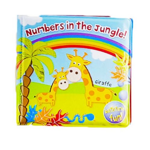 Numbers in the Jungle! Bath Book