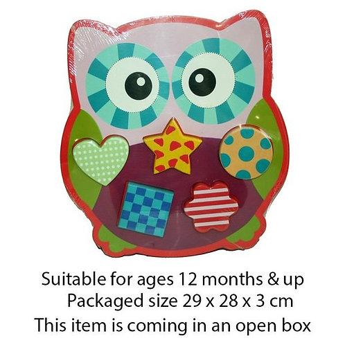 Owl Shape Puzzle
