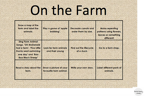 Home Learning On the Farm 2