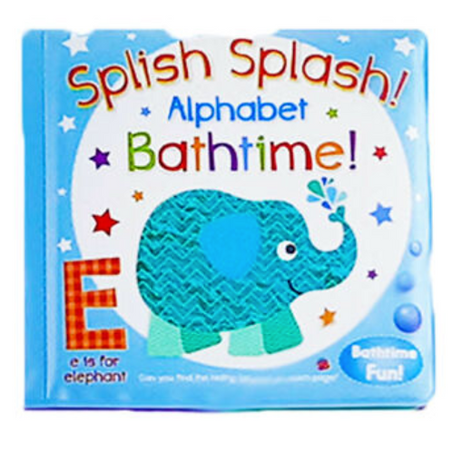 Splish Splash Alphabet Bathtime