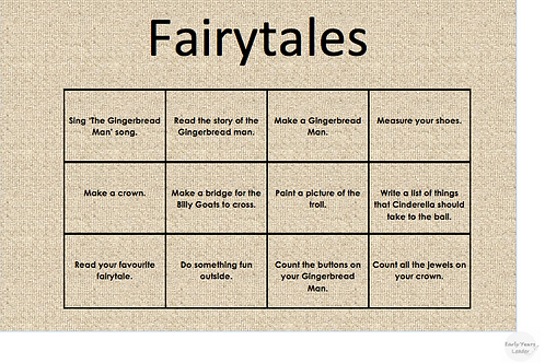 Home Learning Fairytales