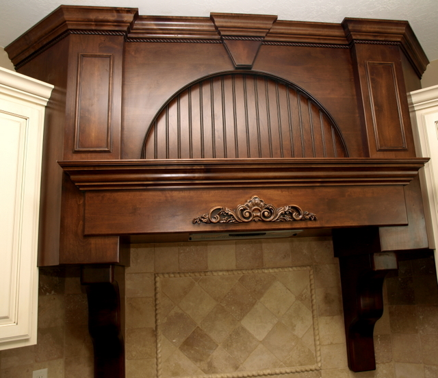 KITCHEN HOOD S AND J CABINETS