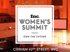 INC Women's Summit NYC Sept. 25, 2017