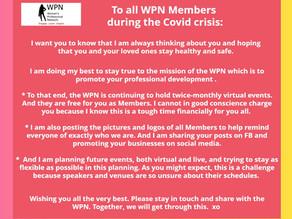 Greetings to all WPN Members