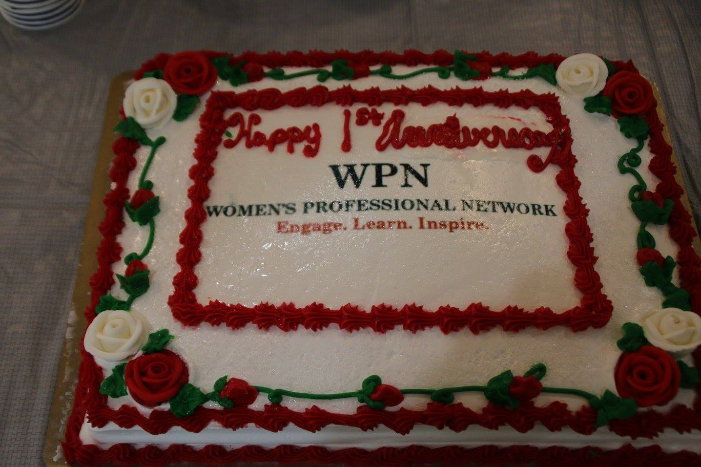 women's professional network cake