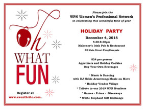 "WPN Annual ""Oh, What Fun!"" Holiday Party"