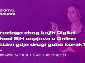 10 razloga zbog kojih Digital School uspjeva u Online nastavi gdje drugi gube korak?