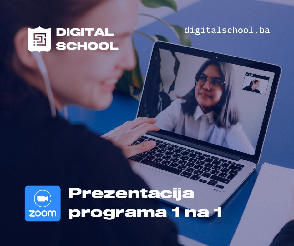 Digital School Prezentacija 1 na 1 Zoom