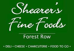 Shearers Fine Foods Forest Row Logo Squa