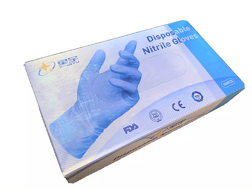 Medium Size Nitrile Gloves 100 Count FDA Approved
