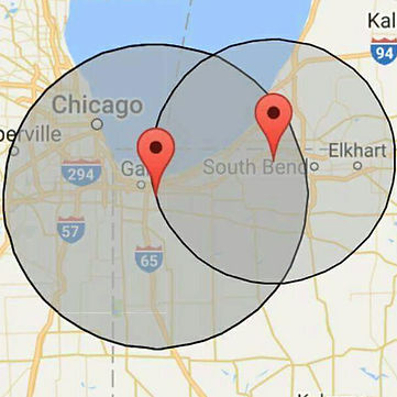 coverage area chicago, southbend, northwest indiana. air duct cleaning, dryer vents, furnace maintenence