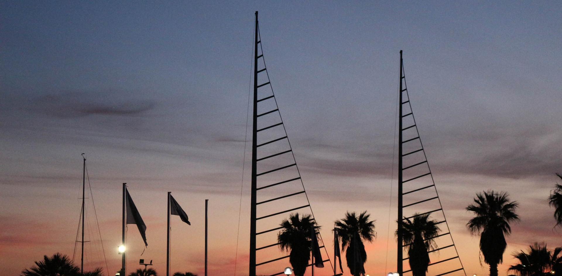 tramonto a Marina di Capitana Cagliari.j