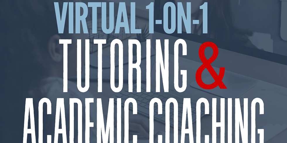 L2C Virtual 1-on-1 Tutoring/Academic Coaching