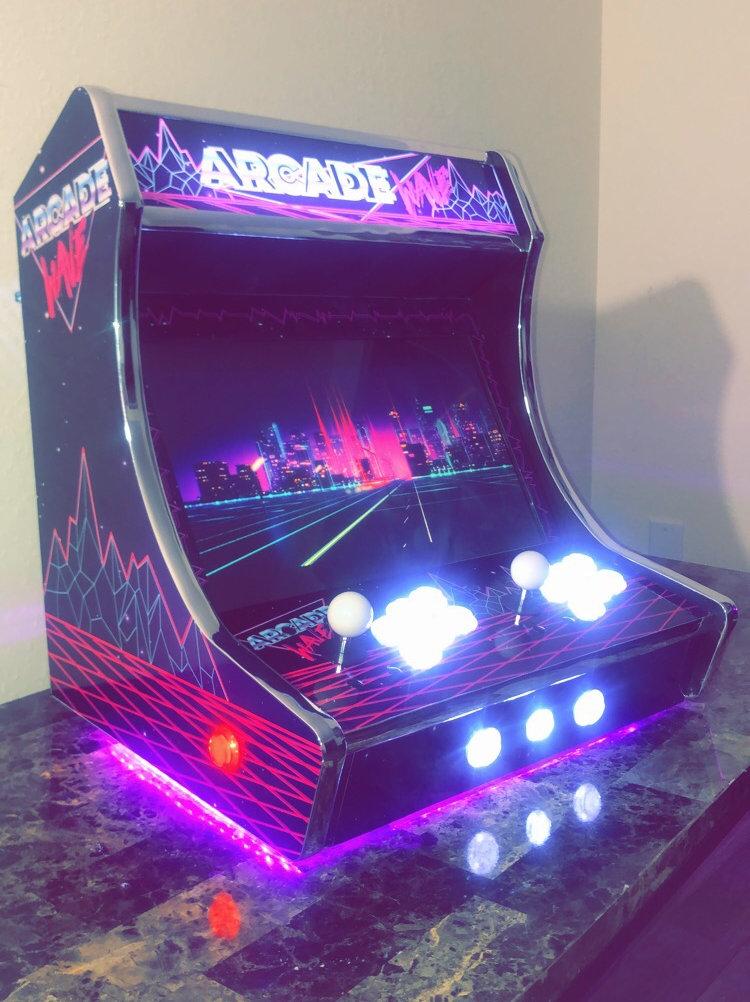 Custom Bartop Arcade Cabinet No Systemgames