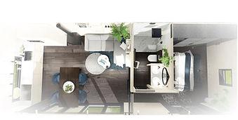 inrichting, tiny house, Tiny-Town, eigen keuzes interieur