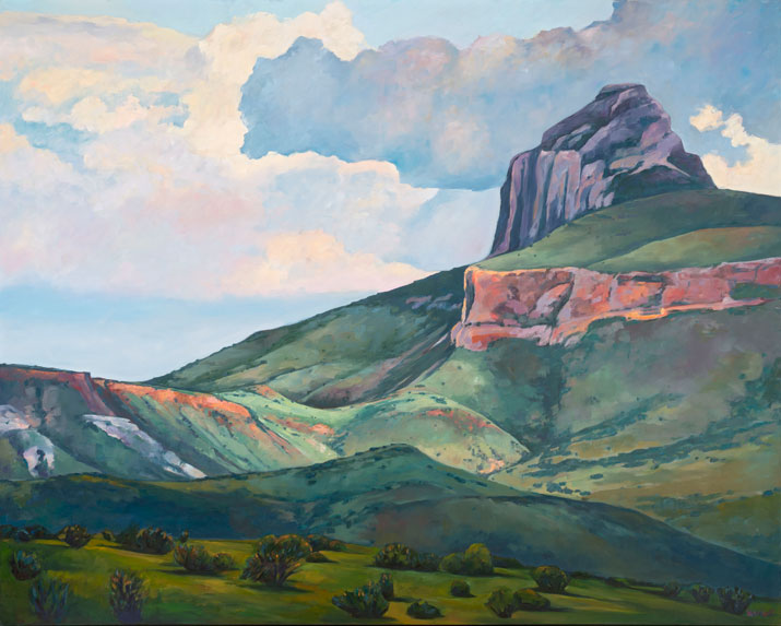 """Cathedral Mountain"""