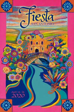 2020 San Antonio Fiesta Poster