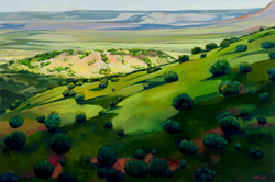 """Sunlit Hills"""