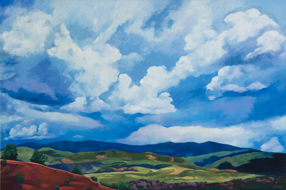 """Clouds Over Sangre De Christos"""