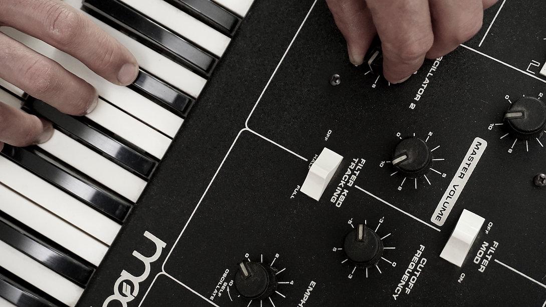 Matthias Klein Musik Musiker Moog
