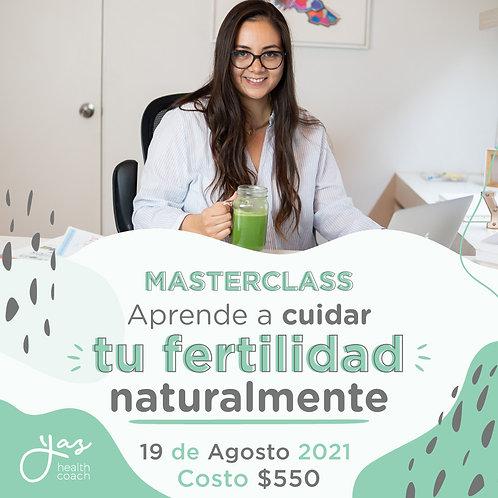Live MasterClass: Aprende a cuidar tu fertilidad naturalmente