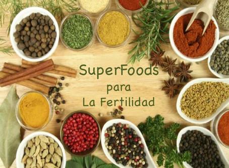 Los mejores Superfoods para la Fertilidad