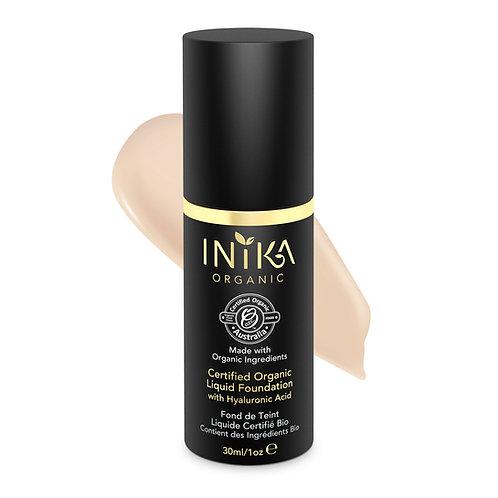 INIKA Certified Organic Liquid Foundation - Porcelain 30  ml