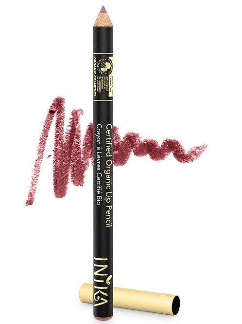 INIKA Certified Organic Lip Pencil - Dusty Rose 1.2  gr