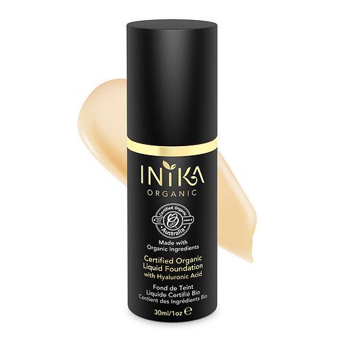 INIKA Certified Organic Liquid Foundation - Cream 30  ml