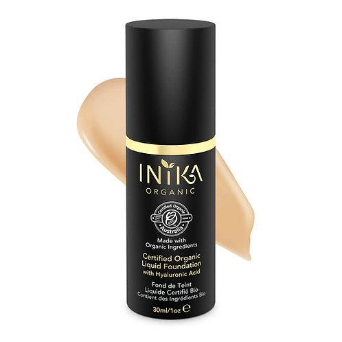 INIKA Certified Organic Liquid Foundation - Honey 30  ml